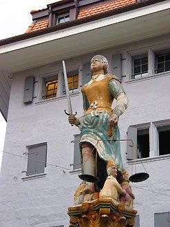 Statue de la Justice - Lausanne